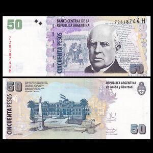 Argentina 50 Pesos, ND(2010), P-356g, UNC