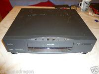 Philips VR 647 VHS-Videorecorder, DEFEKT, spielt kein Band ab, Gehäuse sauber