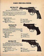 1979 Harrington & Richardson H&R Model 929, 925 5-shot & Long Revolver Ad