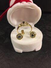 Natürliche Saphir Schmucksets mit echten Diamanten & Edelsteinen für Damen