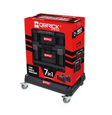 Qbrick XXL Werkstattwagen Rollbox Werkzeugkoffer Mobile Werkstatt Werkzeugwagen