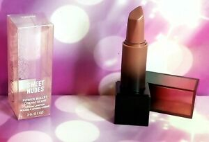 NEW Huda Beauty Power Bullet Cream Glow Sweet Nudes Lipstick Angel nude