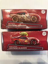 2017 Disney Pixar 2 Unopened Boxes Lightning Queen TUMBLEWEED and DIRT TRACK