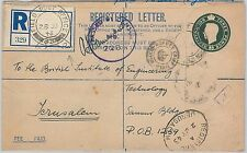 GB - POSTAL HISTORY: STATIONERY COVER for MILITARY USE: TOBRUK to JERUSALEM 1943