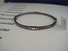 Lia Sophia Manali Hematite Large Bangle Bracelet RV $32