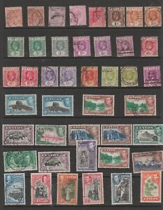 Useful Ceylon used and mint selection