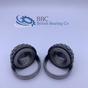 PAIR OF 30205 Taper Roller Bearing 25x52x16.25mm