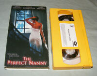 THE PERFECT NANNY Yellow Edition VHS 2001 Sexy Horror Thriller RARE VG+ Slasher