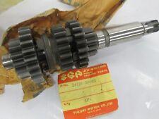 NOS Suzuki ts125 rv125 nos countershaft 1971-1974