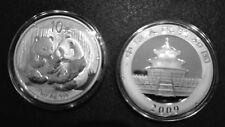 1 oz Silbermünze China Panda in Kapsel unzirkuliert