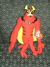 """Ty Beanie Baby Approx 10"""" ~JET RAY ~ (FROM BEN 10) UK Exclusive NEW ~ MWMT RARE"""