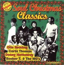 SOUL CHRISTMAS CLASSICS -VAR (CD) REDDING THOMAS MGs HATHAWAY CURTIS IMPRESSIONS