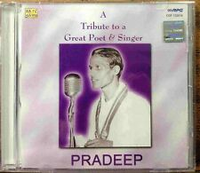 A Tribute To Great Poet & Singer - Pradeep - Original Audio CD