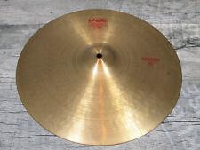 "Paiste 2002 Crash 16"" bronce Cymbal pélvico Drums, batería"