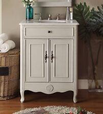 26'' Powder Room Cottage Daleville Bathroom Sink Vanity - 838Ck