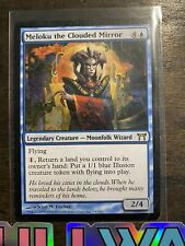 the clouded Mirror Meloku Meloku Magic mtg le Miroir Voilé