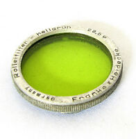 Vintage Rolleiflex Bay I Bay 1 Green Filter For T, MX, Automat, Rolleicord
