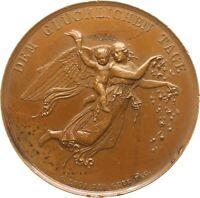 Frankfurt, Medaille 1838, Gube/Loos, Goldene Hochzeit Leerse, gen, Sarasin, RR!
