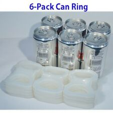 New Six Pack Ringers Lot 200 Ct (Beer / Soda Pop Cans) Plastic 6 Pack Rings