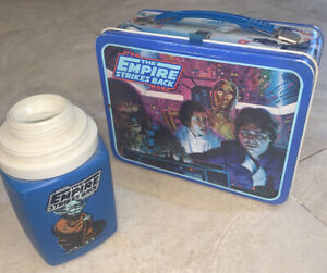 ❗️~Vintage~1980 The Empire Strikes Back Metal Lunchbox Star Wars Good Condition