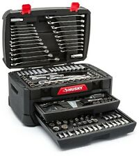 Mechanics Tool Set Husky Professional DIY Workshop Durable Storage Kit 268-Piece