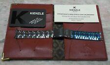 Kienzle vintage box kit bracelet warranty card papers leather wallet nos