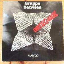 Between - Einstieg, WERGO 1001, Ger,1971  rare KRAUT,  Prog LP, NM-/VG++