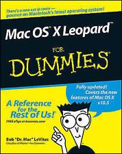 Mac OS X Leopard For Dummies, LeVitus, Bob, Very Good Book