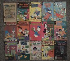 Gold Key Comics Whitman Comics Harvey World Comics Lot Of 15 Comic Books