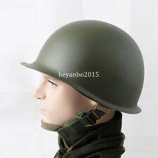 WWII MILITARY US ARMY M1 GREEN HELMET