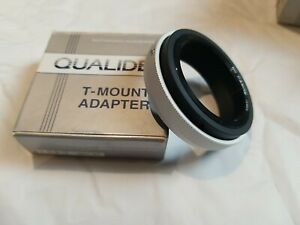 Qualide T-Mount Adapter For Canon Made in Japan New In Box 25-166-0494