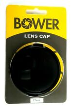 Bower 77mm Center-Pinch Snap-On Front Lens Cap