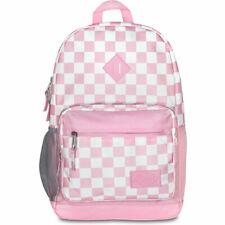 Dickies Unisex Study Hall Backpack Bag Checkered Pink School Hiking Travel