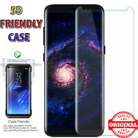 5D Friendly Full Cover Tempered Glass Screen Protector Samsung Galaxy S7 Edge