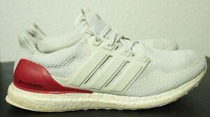 Adidas Ultra Boost 2.0 Kansas KU PE. size 12. White Red Blue. BB0804.