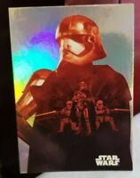 2015 TOPPS JOURNEY TO STAR WARS, THE FORCE AWAKENS  F-7 CAPTAIN PHASMA FOIL CARD