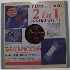 """JIMMY SHAND : SCOTTISH WALTZ / SCOTTISH REFORM 78 rpm 10"""" Record"""