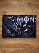 Monster Energy Beach Towel new, tabs vault can bottle sticker 63 X 31