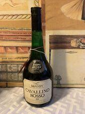 Brandy Cavallino Rosso Sis Riserva Speciale Anni 70 75cl 40 S