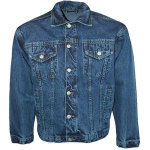 Aztec Jeans Designer Long Sleeve Denim Jacket Mens Size