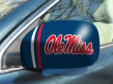Licensed Ncaa Mississippi Ole Miss Car Mirror Covers (2-Pack)-Trucks/Large Suv's