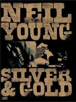 """NEIL YOUNG """"SILVER AND GOLD"""" DVD NEUWARE"""