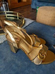 Gucci marmont sandals size 37 a 4