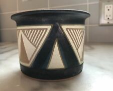 Vintage Signed Krause '78 Studio Art Pottery Bowl
