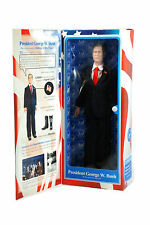 "PRESIDENT GEORGE W. BUSH 12"" TALKING ACTION FIGURE TOYPRESIDENTS NEW IN THE BOX"