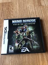 Marvel Nemesis: Rise of the Imperfects (Nintendo DS, 2005) Works  - VC2