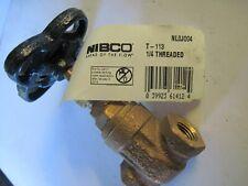 "(Qty 4) NIBCO Gate Valve: 1/4"" T-113 NL0J004 Class 125 Non-Rising Stem Threaded"