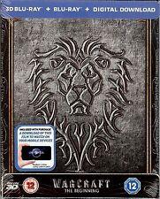 Warcraft: The Beginning Zoom Exclusive Embossed SteelBook (Region Free UK)
