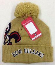 NBA New Orleans Pelicans Adidas Cuffed Pom Knit Hat Cap Beanie Style #KZQ48 NEW!