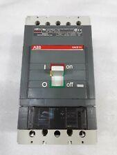 S5h Abb Sace S5 Circuit Breaker 2 Pole 400 Amp 600v 2 Year Warranty